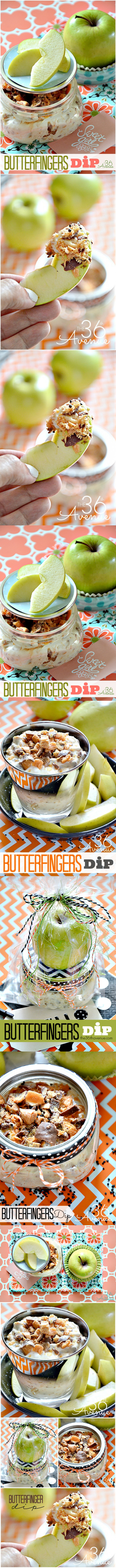 Butterfingers Dip Recipe - The 36th AVENUE