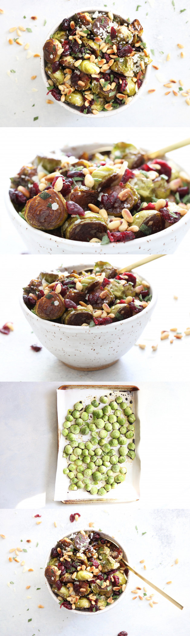 Roasted Balsamic Brussels Sprouts - The Toasted Pine Nut