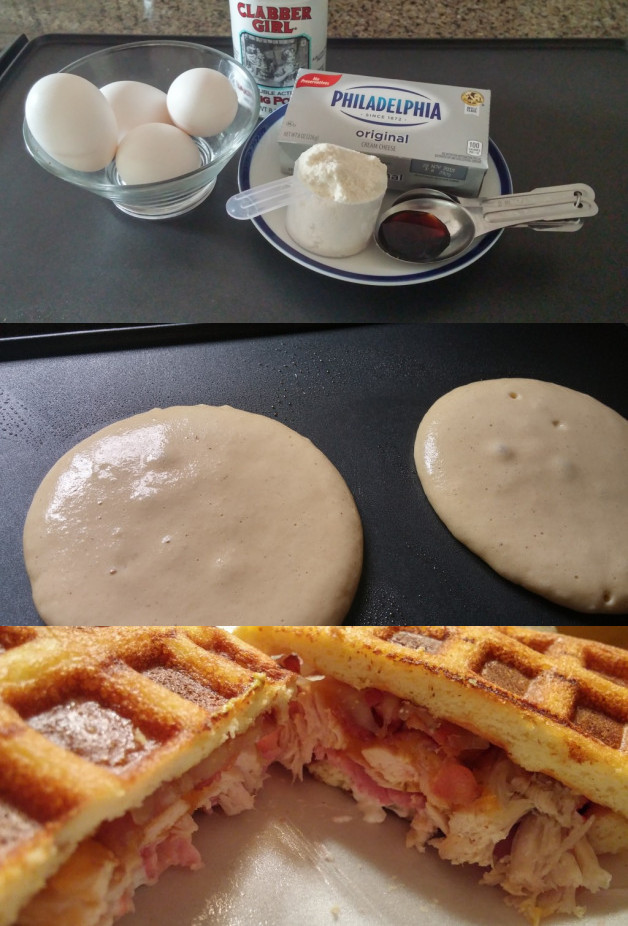 The Only Keto Pancake/Waffle Recipe I Need - TryKetoWith.Me