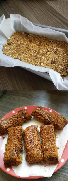 Choc Chip Flapjack Recipe | 101 things to do with kids!