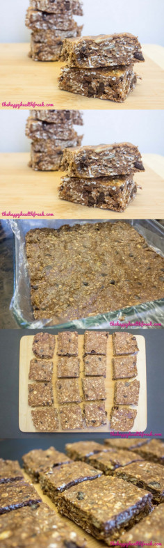 Homemade Protein Bars - The Happy Health Freak