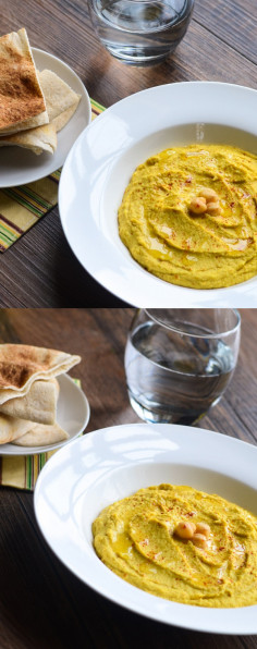 Indian Curry Hummus - The Spice Kit Recipes