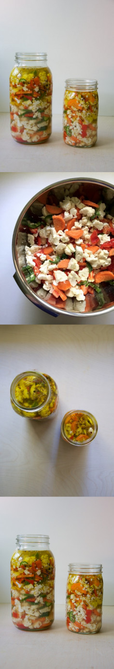 Pickled Giardiniera | Dula Notes