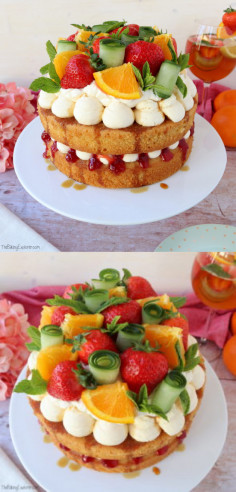Pimms Cake - The Baking Explorer