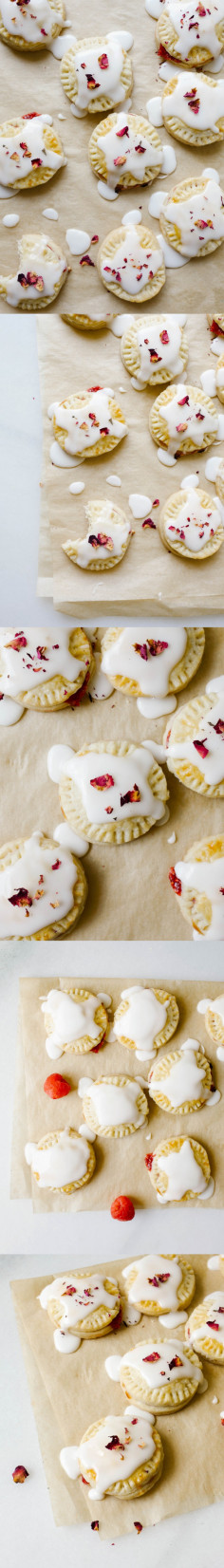 Raspberry Champagne Pop-Tarts - Wood & Spoon