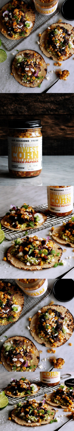 Short Rib Tacos with Sweet Chow Chow - The Original Dish
