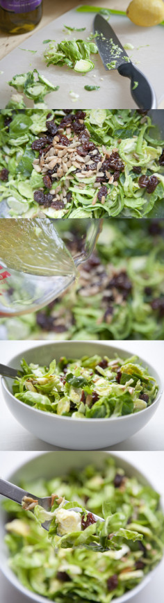 Shredded Brussels Sprouts Salad »