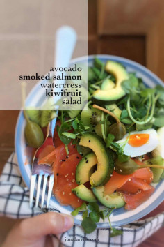 Smoked Salmon Salad with Avocado | Simple. Tasty. Good.