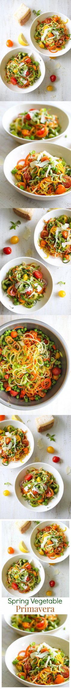 Spring Vegetable Primavera | Dishing Out Health